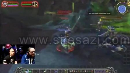 گروه طراحی وب سایت:WoW Legion Demon Hunters Gameplay